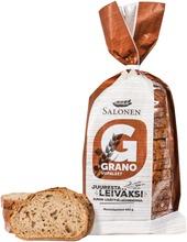 Perheleipuri Salonen Grano Viipaloitu Moniviljaleipä 400 G Moniviljaleipä