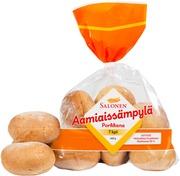Perheleipuri Salonen Aamiaissämpylä Porkkana 7/420 G Porkkanalla Maustettu Vehnäsämpylä, Halkaistu