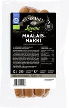 Tamminen Luomu Maalaisnakki 12Kpl/280G