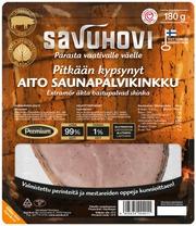 Savuhovi Oy Pitkään Kypsynyt Aito Saunapalvikinkku 180G