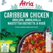 Atria Caribbean Chicken With Jambalaya Sauce And Rice 350G