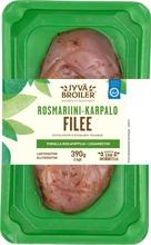 Jyväbroiler Broilerin Filee Rosmariini-Karpalo 390G