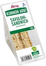 Atria Kunnon Arki Savulohisandwich 140G