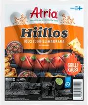 Atria Hiillos Juustogrillimakkara 400G