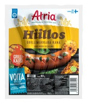 Atria Hiillos Grillimakkara Kana 400G