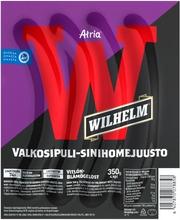 Atria Wilhelm Valkosipuli-Sinihomejuusto 350G