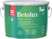 Tikkurila Betolux Lattiamaali 9L A Valkoinen Sävytettävissä Kiiltävä