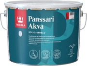 Tikkurila Panssari Akva Akrylaattimaali Metallipinnoille 9L A Valkoinen Sävytettävissä Puolihimmeä
