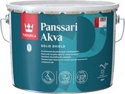 Tikkurila Panssari Akva Akrylaattimaali Metallipinnoille 9L C Vain Sävytykseen Puolihimmeä
