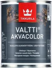 Tikkurila Valtti Akvacolor Kuullote 0,9L Ep Kirkas Vain Sävytykseen Ulkokäyttöön