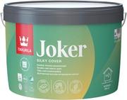 Tikkurila Joker Seinämaali 7,2L A Valkoinen Sävytettävissä Silkinhimmeä