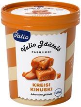 Valio jäätelö 480 ml kreisi kinuski laktoositon