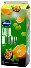 Valio 3 Hedelmän Mehu 1,5 L (Rypäle, Appelsiini, Passionhedelmä)