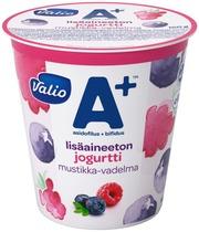 Valio A  Lisäaineeton Jogurtti 150 G Mustikka-Vadelma Laktoositon