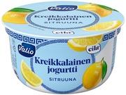 Valio Kreikkalainen Jogurtti 150 G Sitruuna Laktoositon
