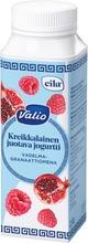 Valio Kreikkalainen Juotava Jogurtti 2,5 Dl Vadelma-Granaattiomena Laktoositon