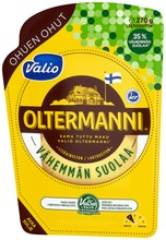 Valio Oltermanni Ohuen Ohut E270 G Viipale Valsa