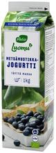 Valio Luomu jogurtti 1 kg metsämustikka laktoositon