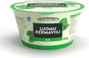 Juustoportti Luomu Kermaviili 200 g