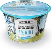 Juustoportti Vapaan Lehmän Viili 1 % 200 G Laktoositon