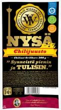 Wigren Chilijuusto Nysägrillimakkara 300G Laktoositon, Gluteeniton