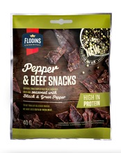 Flodins Pepper Beef Snack 40 G