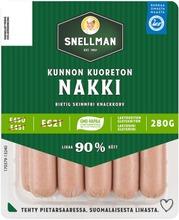 Snellman Kunnon Kuoreton Nakkimakkara 280G