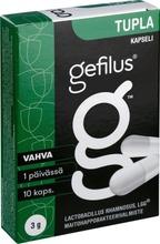 Gefilus Tupla Maitohappobakteerikapseli 10Kpl Ravintolisä