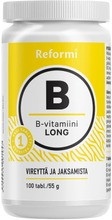 B-vitamin Long 100tabl