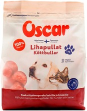 Oscar Lihapullat Raaka Täydennysravinto Koirille Ja Kissoille 1Kg
