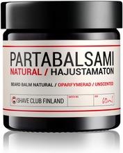 Shave Club Finland Partabalsami Natural 60Ml