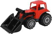 Plasto Kauhatraktori, 32 Cm, Punainen