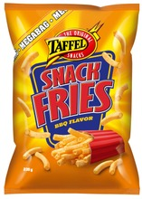 Taffel Snack Fries maustettu perunasnacks 235g