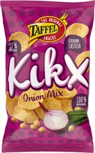 Taffel KikX Onion Mix sipuli maustettu kikhernelastu 60g