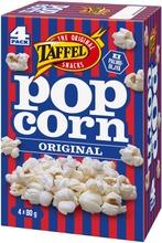 Taffel Original Suolattu Mikropopcorn 4X80g