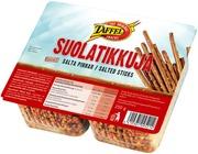 Taffel Suolatikut Leivottu Snacks 250G