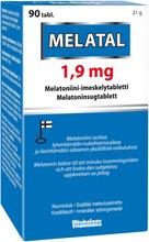 Melatal 1.9 Mg Melatoniini-Imeskelytabletti 90 Tabl. Vitabalans