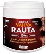 Extra Vahva Rauta 100 Mg 100 Tabl, Rauta-C-Vitamiinitabletti, Vitabalans
