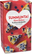 Sunnuntai Anni Helena 2Kg Kakkuvehnäjauho