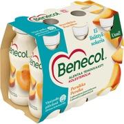 Benecol 6X100g Jogurttijuoma Persikka Laktoositon Kolesterolia Alentava