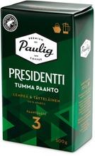 Presidentti Tumma Paahto 500G Pannujauhettu Kahvi Utz