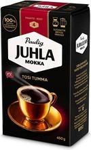 Juhla Mokka Tosi Tumma 450 G Hienojauhettu Kahvi Utz