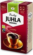 Juhla Mokka Luomu 400G Hienojauhettu Kahvi Reilu Kauppa, Luomu