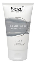 Biozell Professional Color Mask Hoitava Sävyte Silver 150Ml