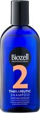 Biozell Professional Therapeutic Shampoo Rasvoittuvat Hiukset Ja Arka Kutiava Hiuspohja 200Ml