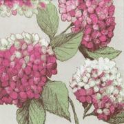 Pentik Havi Tissue Lautasliina Hortensia Punainen 24Cm 20Kpl