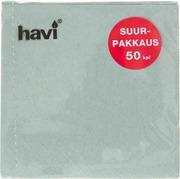 Havi 50Kpl/24Cm Harmaa Tissue Lautasliina