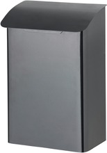 Orthex Postilaatikko Metallinen Musta