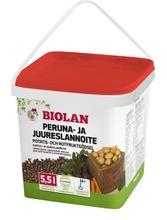 Biolan Peruna- Ja Juureslannoite 5,5 L Pakki