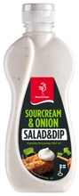 Saarioinen Sour Cream & Onion Salaatti- Ja Dippikastike 345Ml